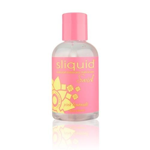 SLIQUID NATURALS SWIRL FLAVOURED LUBRICANTS - Pink Lemonade - SeriouslySensual