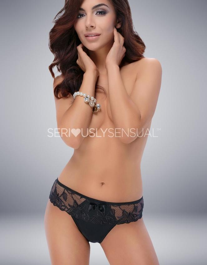 VANGELISE BRIEF BLACK - SeriouslySensual