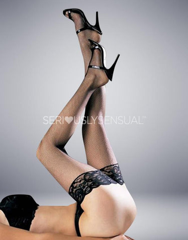 YESX YX411 STOCKINGS BLACK - SeriouslySensual