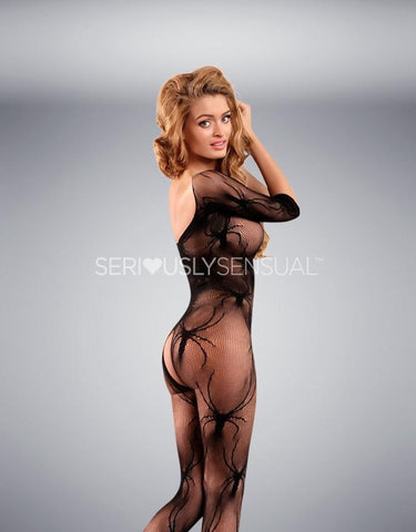 Yesx YX413 Bodystocking Black
