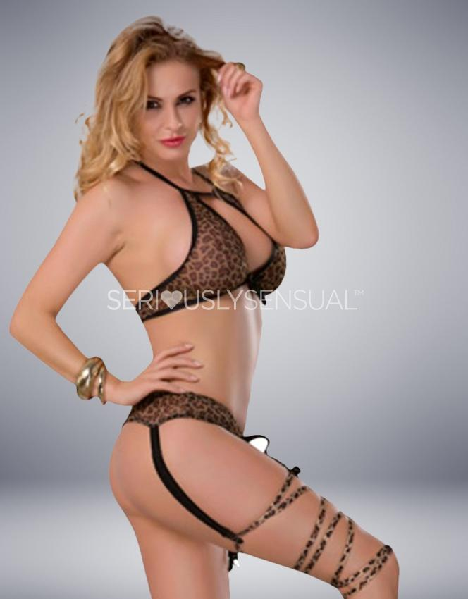 YESX YX937 3PC SET - Leopard Print - SeriouslySensual