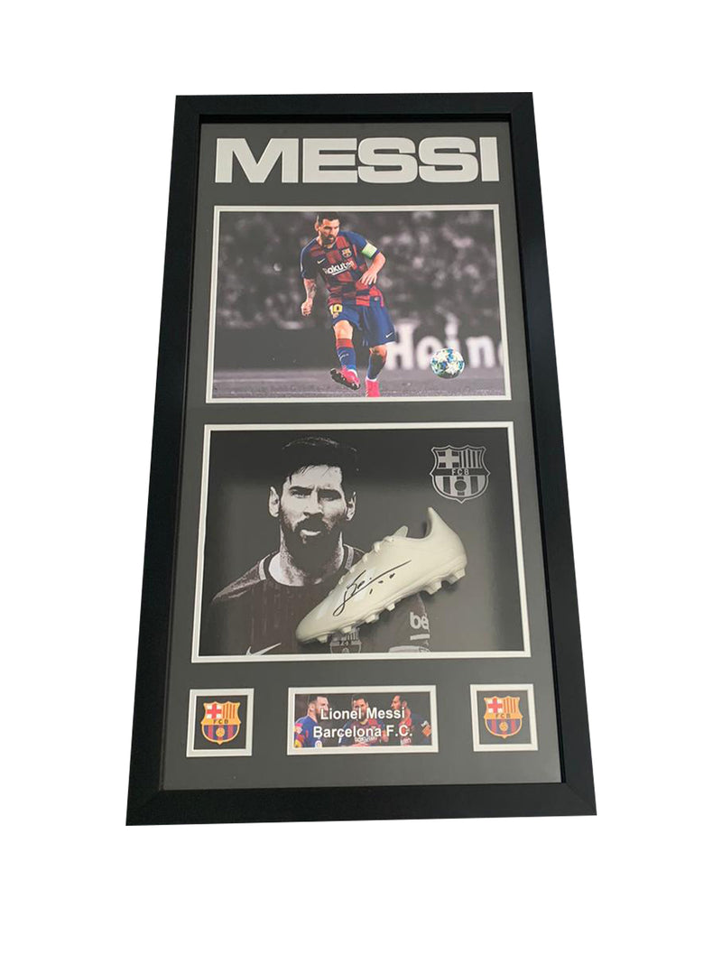 Messi 3D Signed Light Up Boot