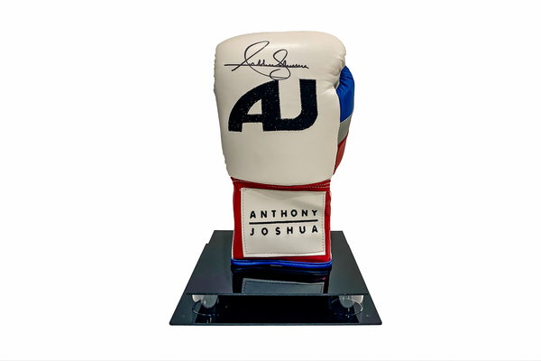 "Anthony Joshua Branded ""AJ"" Signed Glove"