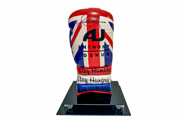 Anthony Joshua Limited Edition Union Jack Signed Glove