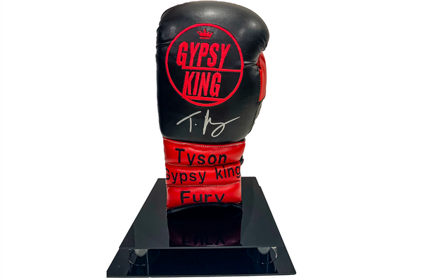 "Tyson Fury ""Gypsy King"" Signed Glove"