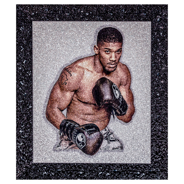 Anthony Joshua Original Signed ASAYSI Piece