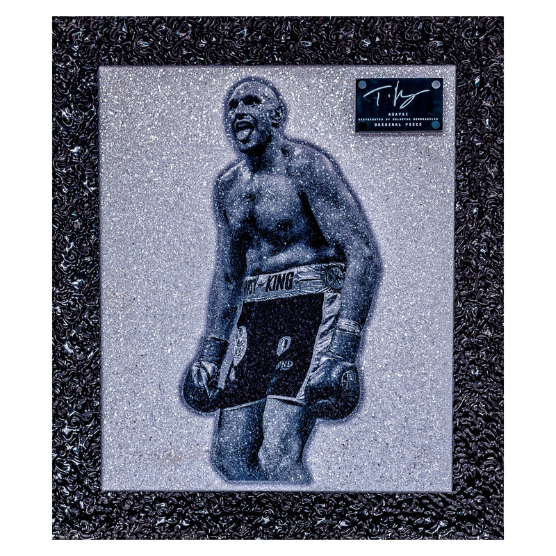 Tyson Fury Signed Piece