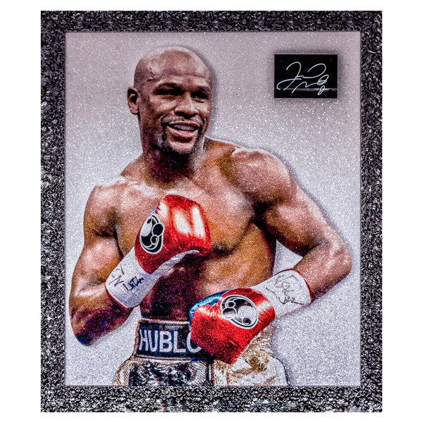 Floyd 'Money' Mayweather Signed Piece