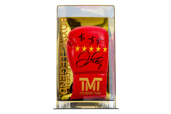 Floyd Mayweather TMT Dollar Sign Signed Glove