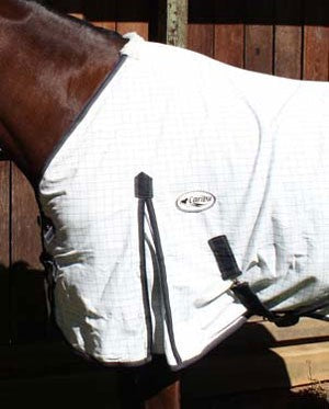 Avoiding Horse Rug Rub Marks - If your rug has belly surcingles, gussets play a very important role in allowing the fabric to mould around the shoulder and allow the rug to tuck up under the belly behind the surcingle straps.