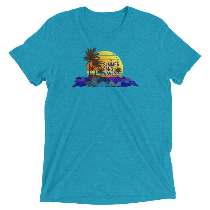 Summer Sand Waves T shirts