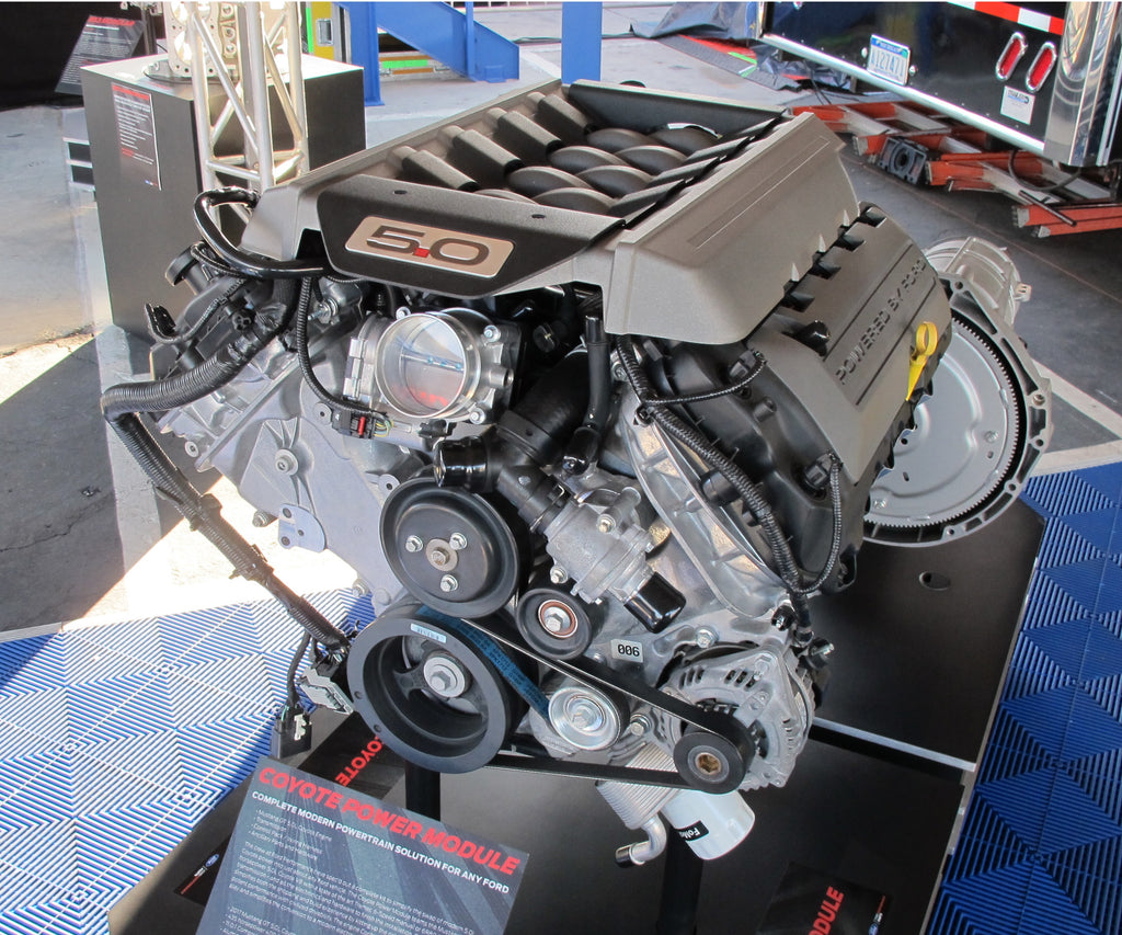 mustang coyote engine