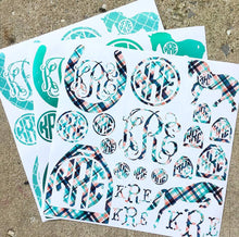 CUSTOM DECAL SHEETS