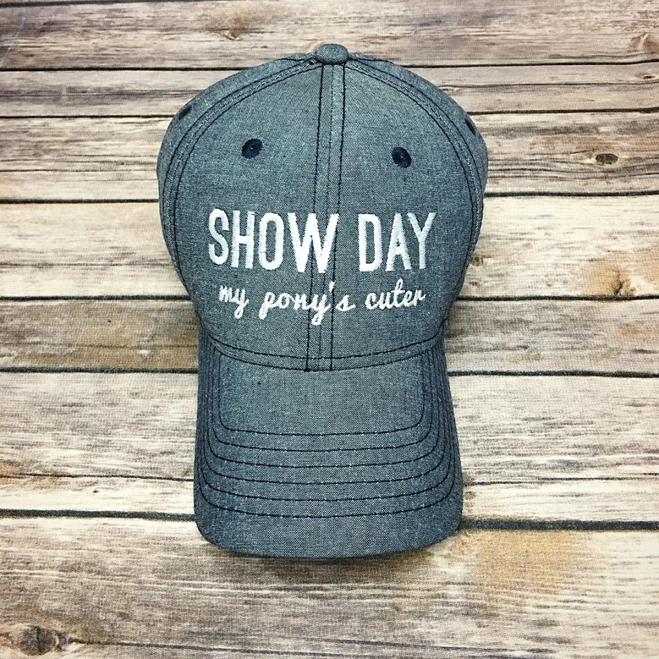 Chambray SHOW DAY Cap