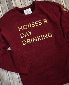 Horses & Day Drinking | SWEATSHIRT