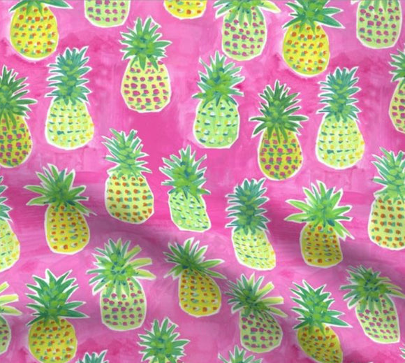 Pineapples on Pink| BOOT LEGS