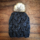Cabled Beanie