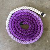 Ombre Single Color | Hand Dyed Lead Rope