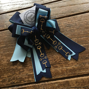 Navy Bits | Show Bows