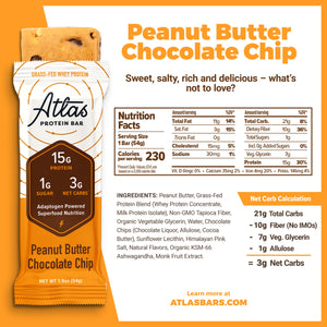 Peanut Butter Chocolate Chip (10-ct)
