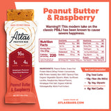 Peanut Butter & Raspberry (10-ct)