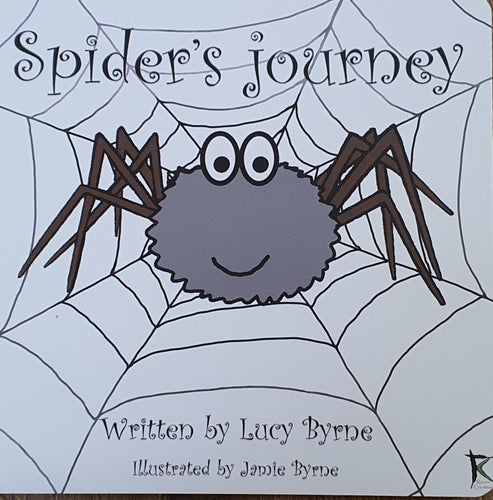 Spider's Journey by Lucy and Jamie Byrne