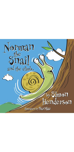 Norman the Snail and The Climb by Simon Henderson
