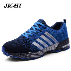 796eec867fdae 2019 Sport Running Shoes Men Couple Casual Shoes Men Flats Outdoor Sneakers  Mesh Breathable Walking Footwear