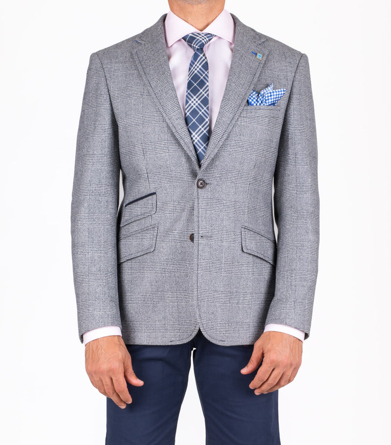 Caspian light grey Blazer