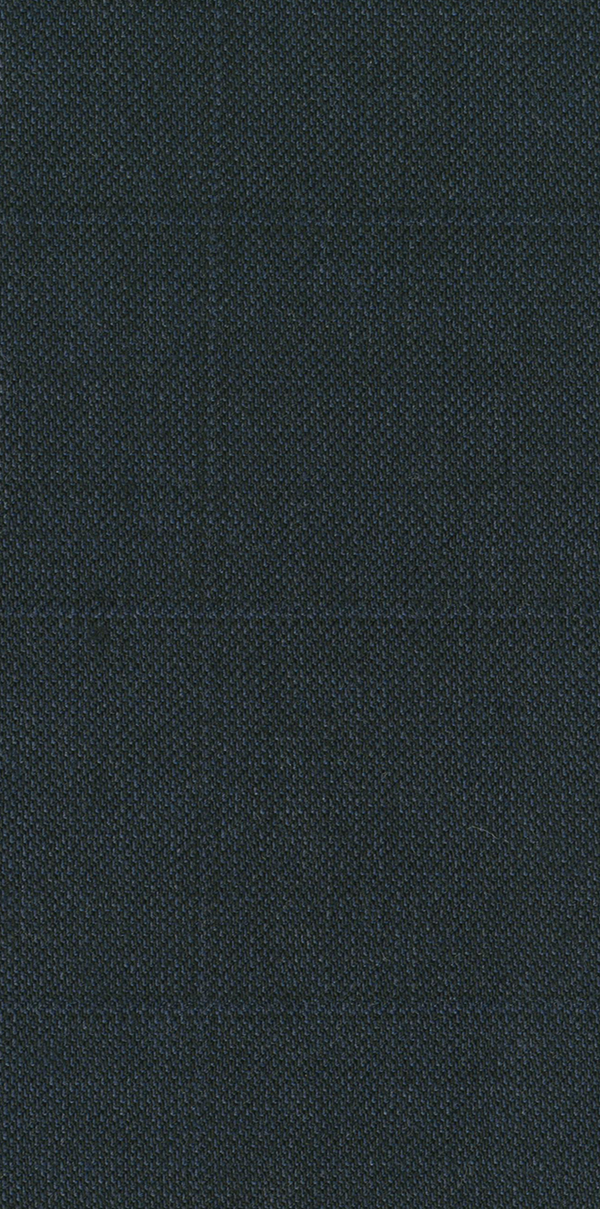 NAVY SUPER 100'S WOOL WINDOWPANE CHECK SLIM FIT HEARTS TROUSER
