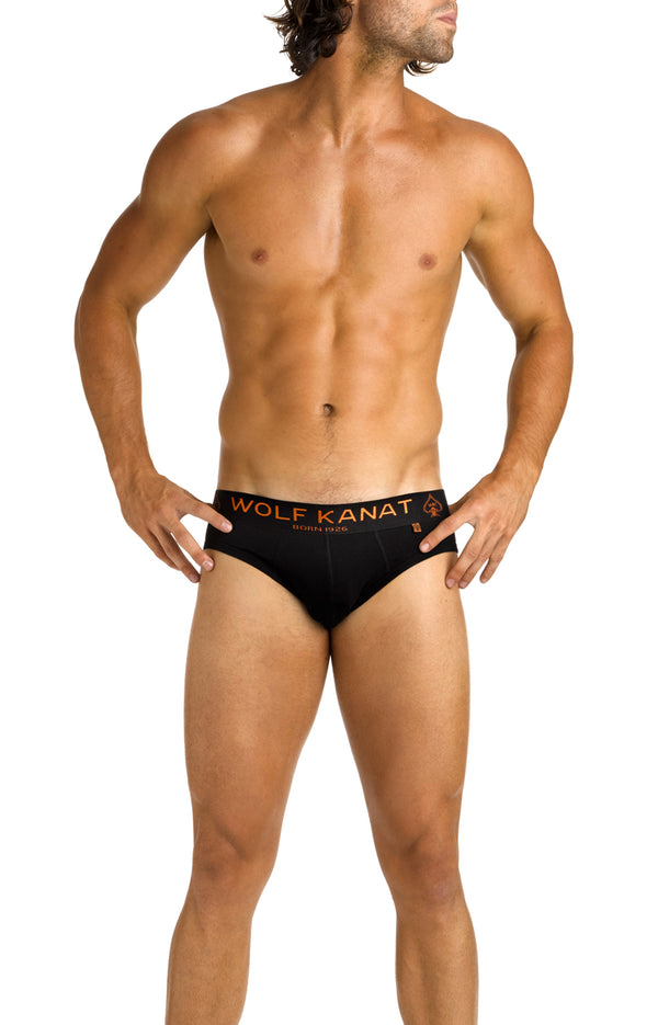 Black Brief underwear x 3 MultiPack