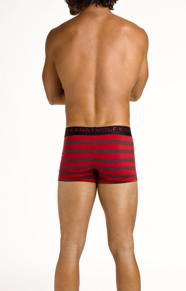 RED AND BLACK BOXER SHORT x 3 MULTIPACK