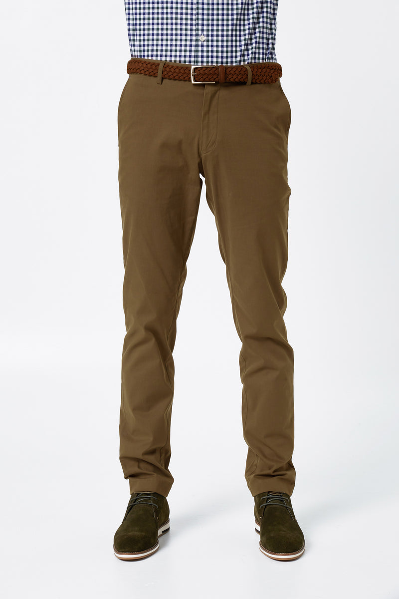 CIGAR COTTON STRETCH SLIM FIT TOPSKY CHINO
