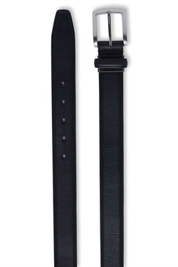 BLACK LEATHER YANIS BELT