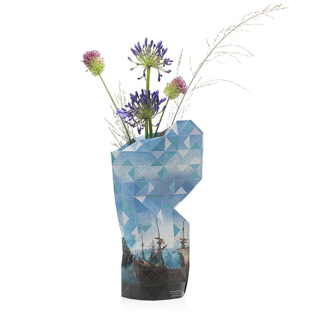 Paper Vase Cover - Battle of Gibraltar - Large