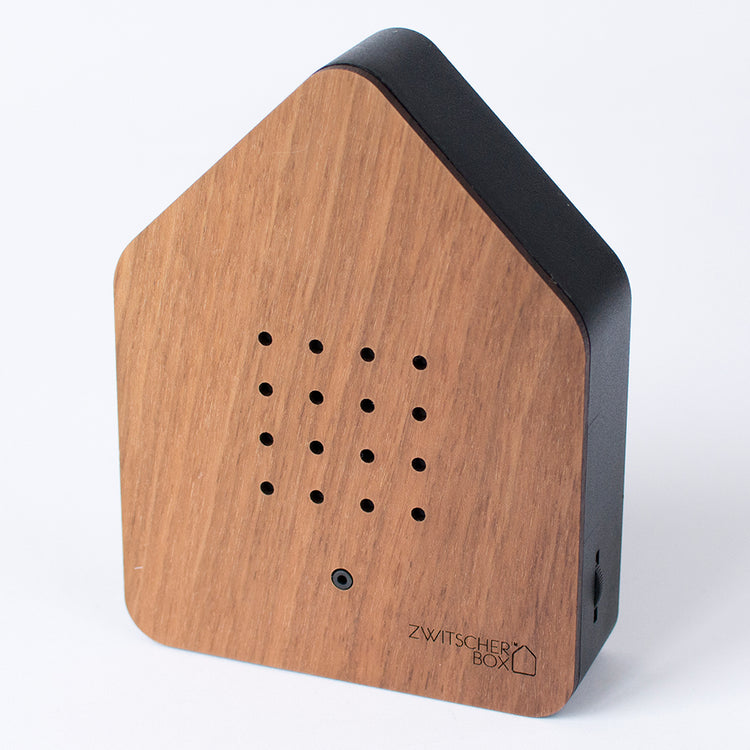 Zwitscherbox Sound House - Walnut Wood