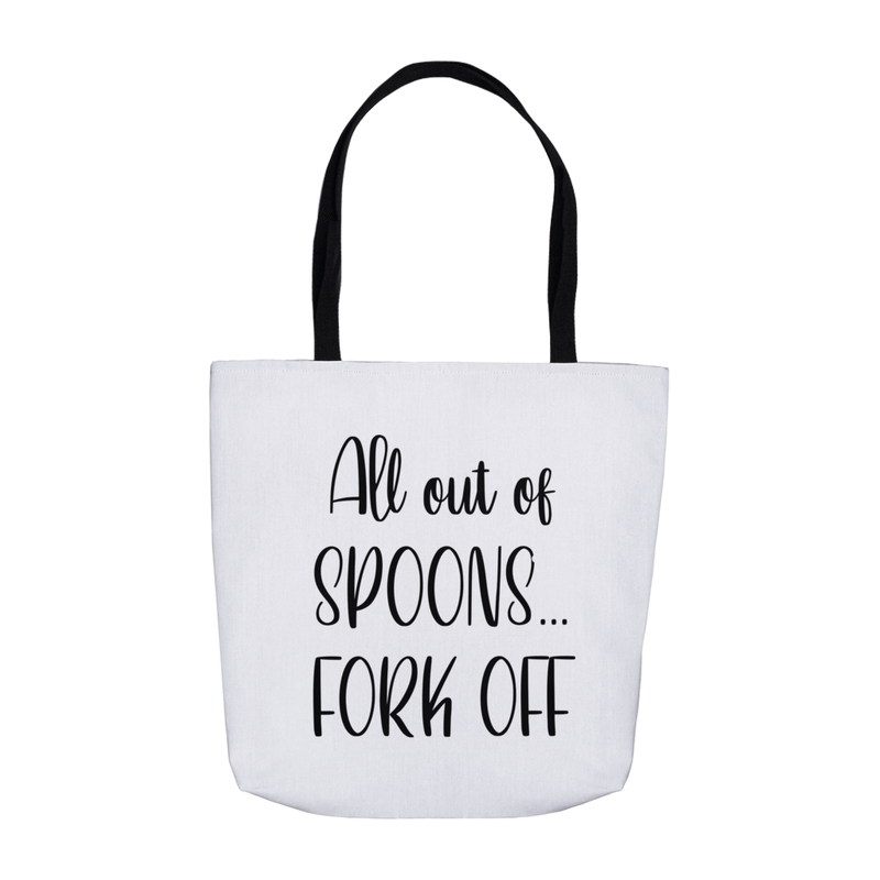 All out of Spoons Tote Bag