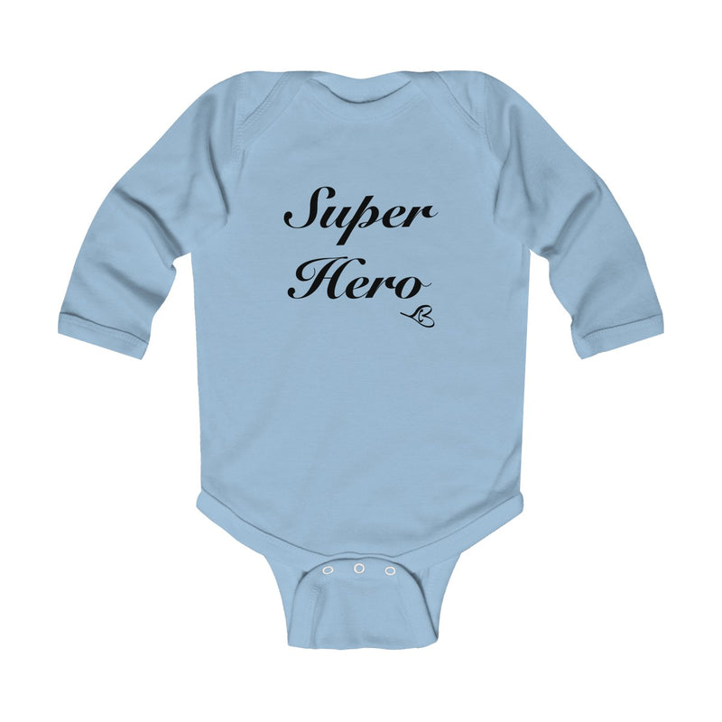 Super Hero Infant Long Sleeve Onesie