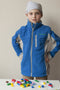 Girls' Medically Accessible Fleece Jacket - Blue