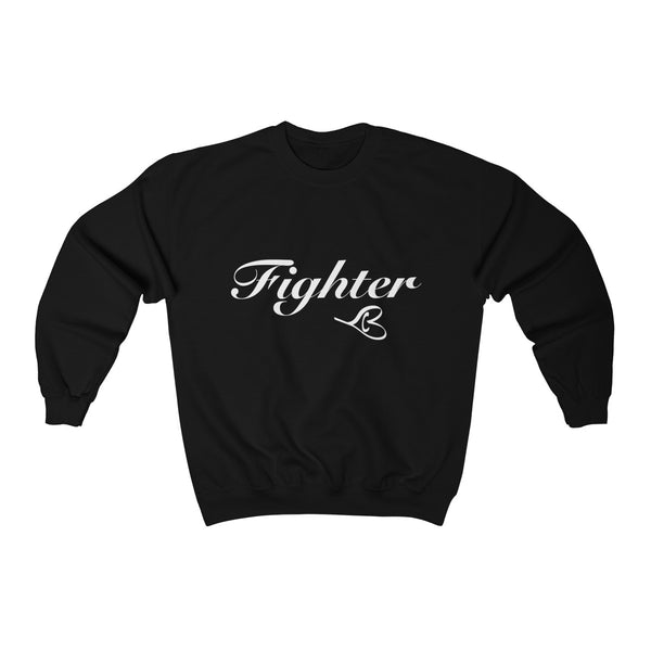White Fighter Unisex Crewneck Sweatshirt