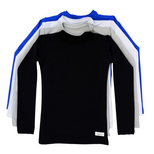 Long Sleeve Plain and Simple Kozie Compression Shirt