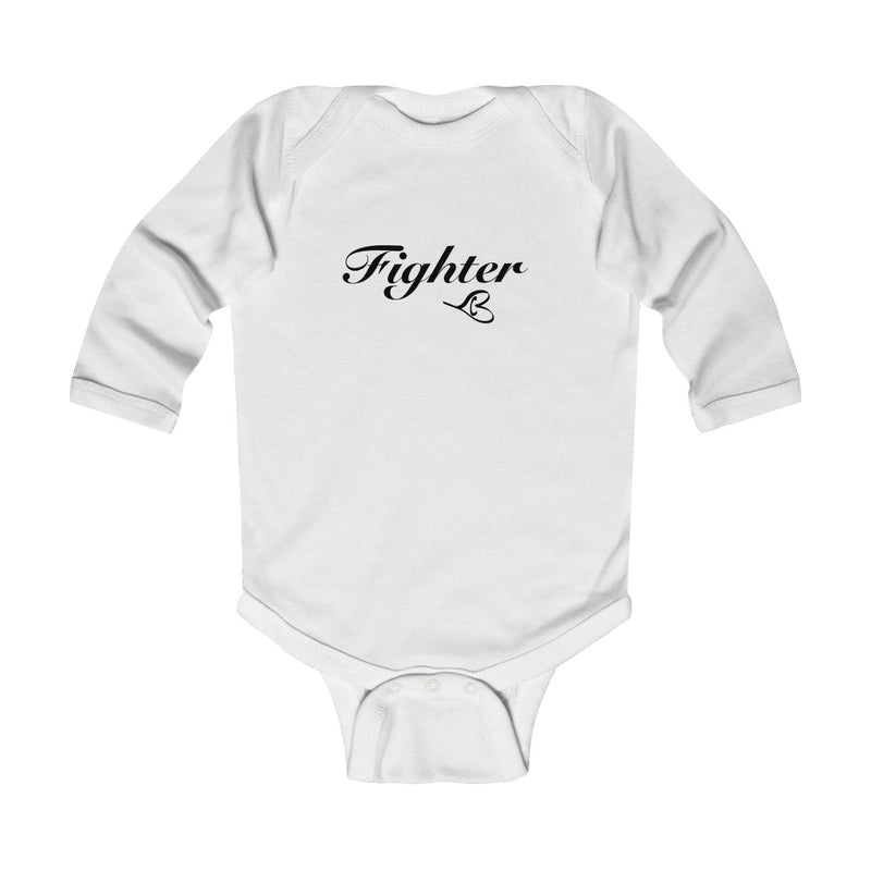 Blue Infant LS Fighter Onesie