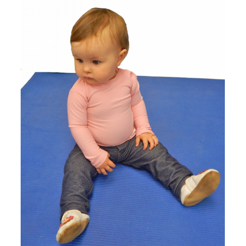 Baby Long Sleeve Plain and Simple Kozie Compression Shirt