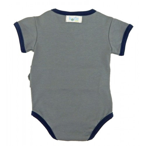Boys Kozie Medical and G-Tube One-Piece Bodysuit - The Charlie