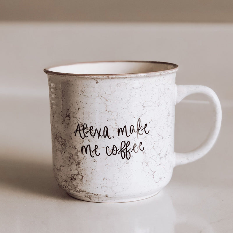 Alexa, Make Me Coffee Campfire Coffee Mug