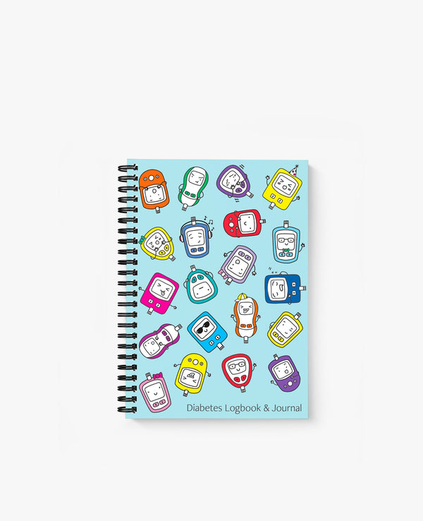 Diabetes Logbook with Stickers