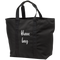 Brave Bag Black Zippered Tote Bag
