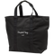Hospital Bag Black Zippered Tote Bag