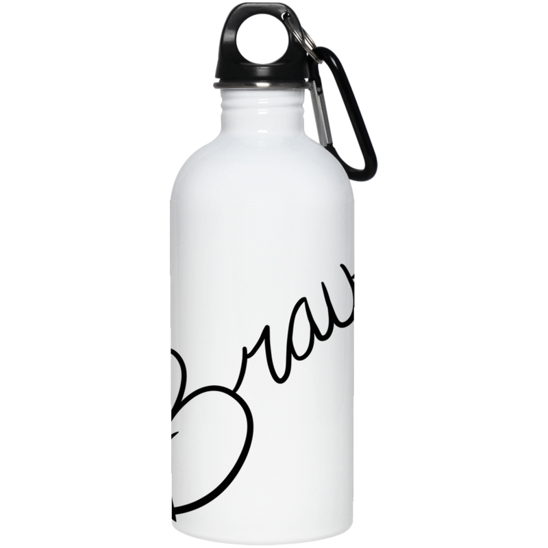 Brave 20 oz. Stainless Steel Water Bottle