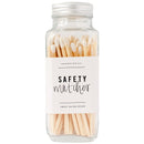 White Safety Matches - Glass Jar-Matches-Sweet Water Decor-Sweet Water Decor-Motivational-Chic-Rustic-Home-Office-Decor-Hand-Lettered-Wholesale
